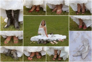 Janell Shoe Collage